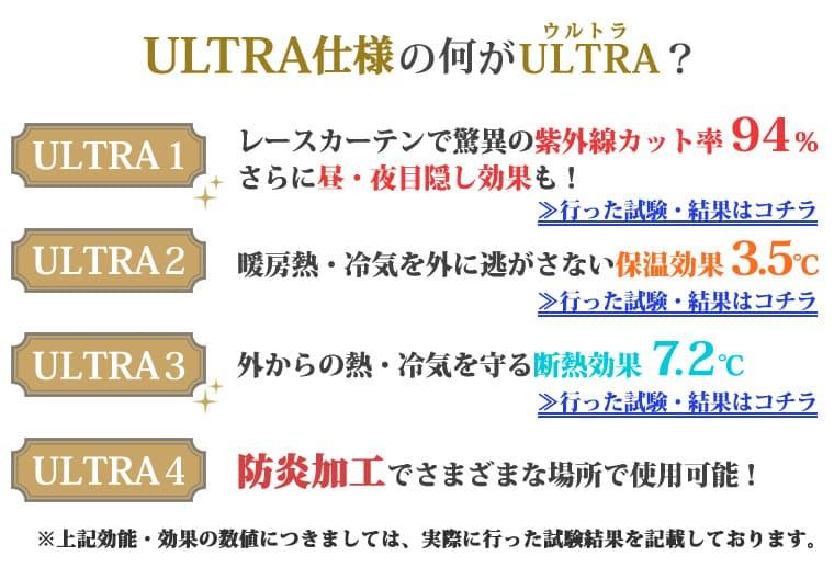 ULTRA仕様の何がULTRA