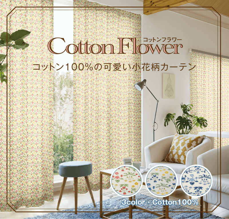 3color・Cotton100%