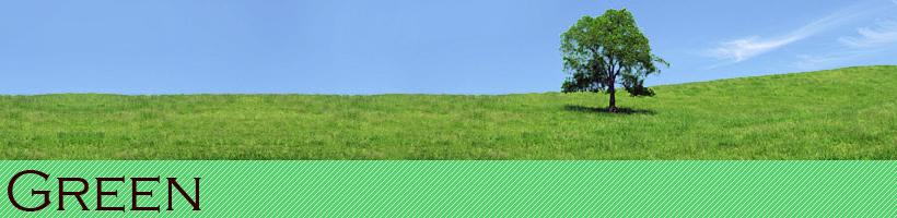 グリーン|緑色・黄緑色