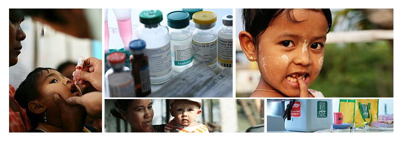 ワクチン寄付イメージ