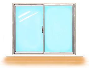 掃き出し窓のイメージ