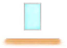 フィックス窓のイメージ