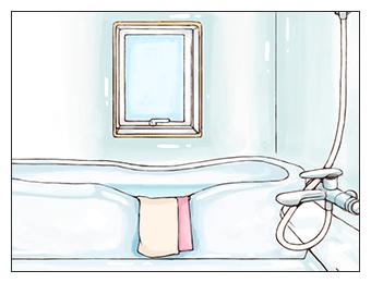 お風呂場のイメージ